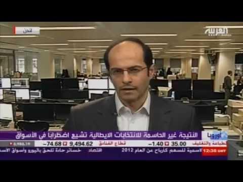 أشرف العايدي على العربية --  26 فبراير2013 Chart