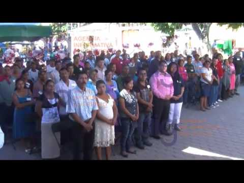 Realizan boda masiva en el municipio de Quechultenango