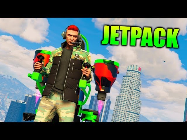 JETPACK !! TESTING THE NEW JETPACK Doomsday Heist DLC * Judgment Day * - GTA 5 ONLINE
