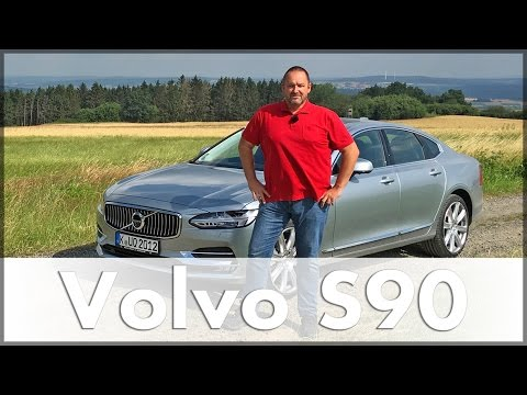 Volvo S90 2016 | Volvo S90 T5 | Test | Fahrbericht | Auto | Deutsch