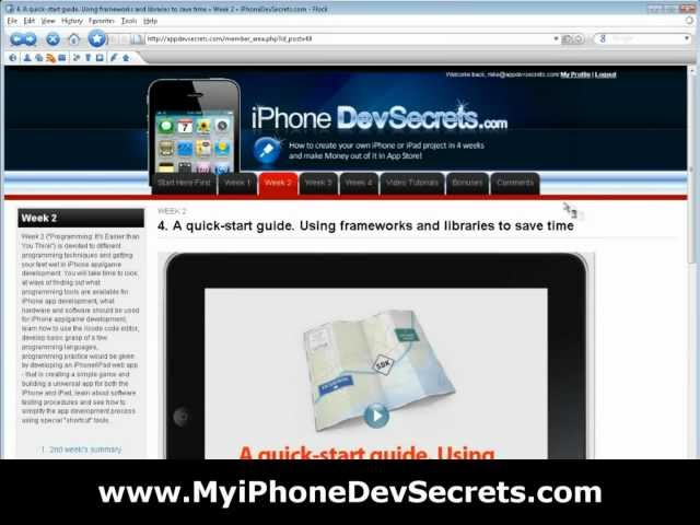 iPhone App Development - [NEW] iPhone Apps Development Tutorial