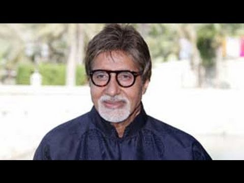 Amitabh Bachchan appeals for 'dry Holi' as Maharashtra grapples with drought
