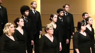 Ola Gjeilo w/the CWU Chamber Choir: Northern Lights - In the Moment  (4 of  4)