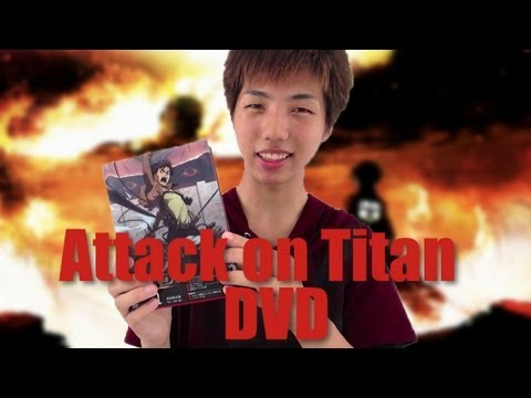 特典は0巻!! 進撃の巨人 初回限定版DVD!! Attack on Titan