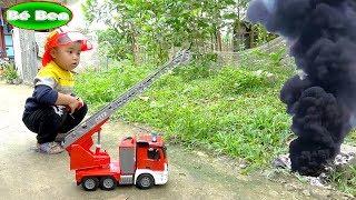 Fire truck ❤ Bé Chơi Xe Cứu Hỏa ❤ Bé Ben