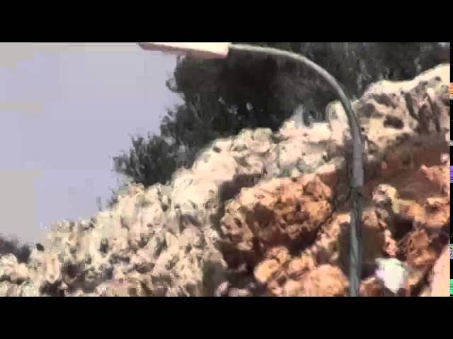 Rock Terror on Judea Samaria Highway