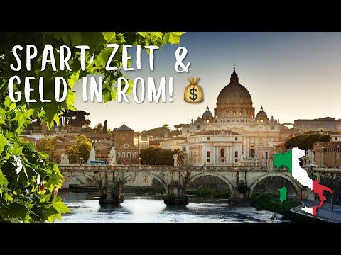 Spart ZEIT und GELD in Rom! - 10 nützliche Tipps und Tricks