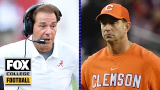 Is the College Football Playoff bound for a 2018 repeat? | FOX COLLEGE FOOTBALL