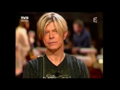 David Bowie, Damon Albarn - Fashion/interview (Trafic Musique 2003.09)