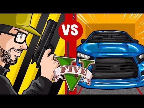 GTA V - Blindados x TODAS as armas, o que é isso que aconteceu?
