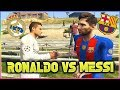 MESSI vs RONALDO El Clasico 2017 Football Challenges in GTA 5