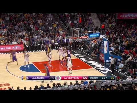 Los Angeles Lakers vs Los Angeles Clippers | April 5, 2016 | NBA 2015-16 Season