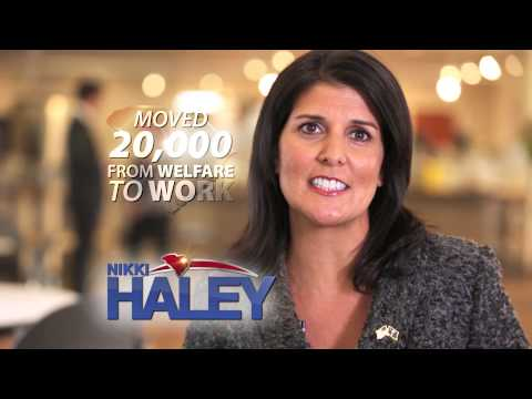 "Haley for Governor TV Ad: ""Paychecks"""