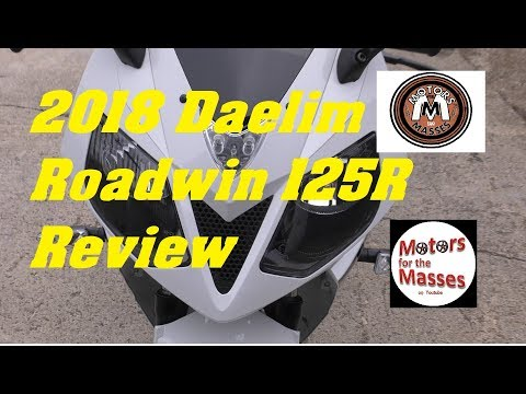 2018 Daelim Roadwin 125 R REVIEW