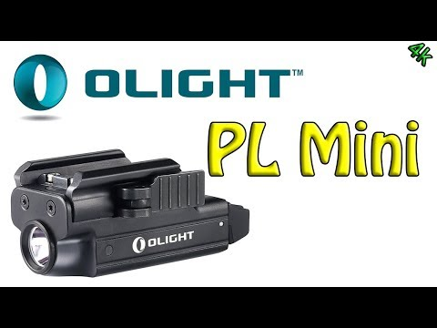 Olight PL Mini - Rechargeable Weapon Mounted Light