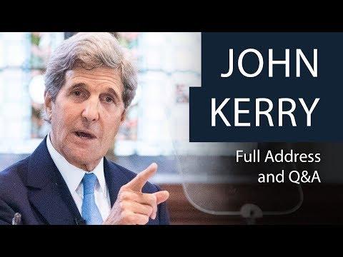 John Kerry | Full Address and Q&A | Oxford Union