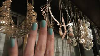 Necklace curtain - ASMR whisper