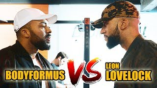 LOVELOCK VS. BODYFORMUS 😤 || FITNESS CHALLENGE 💪🏾 - Leon Lovelock