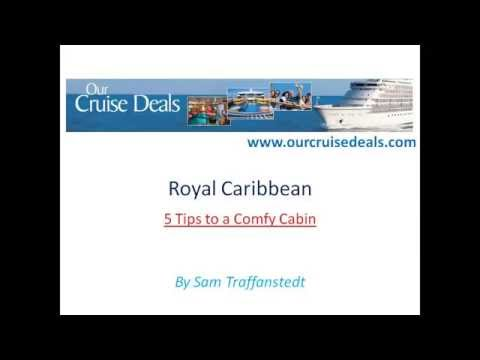 Royal Caribbean   5 Tips to a Comfy Cabin