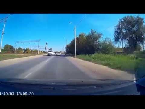 Волгоград, дтп,ул Кропоткина д.12 03 октября 2014 г.