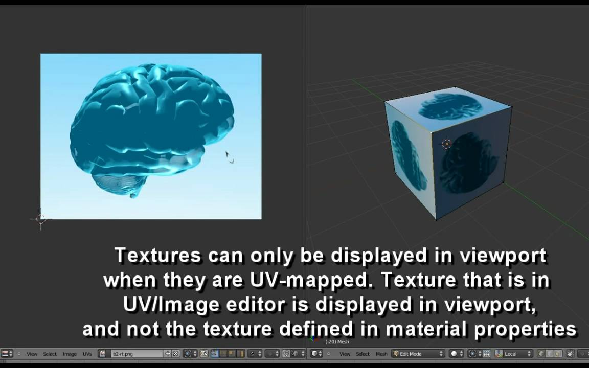 how to change texture in blender