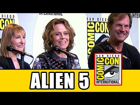 Sigourney Weaver Talks ALIEN 5 At Aliens 30th Anniversary Comic Con Panel