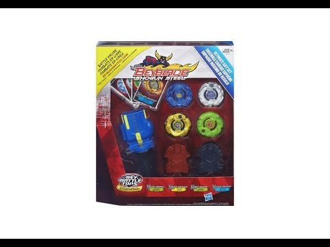 (CLOSED)Beyblade Shogun Steel Ultimate Gift Set Review Unboxing Giveaway Expires December 15 2013