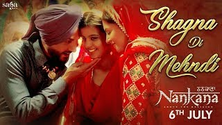 Shagna Di Mehndi - Gurdas Maan, Sunidhi Chauhan   Jatinder Shah, Nankana   Latest Punjabi Songs 2018