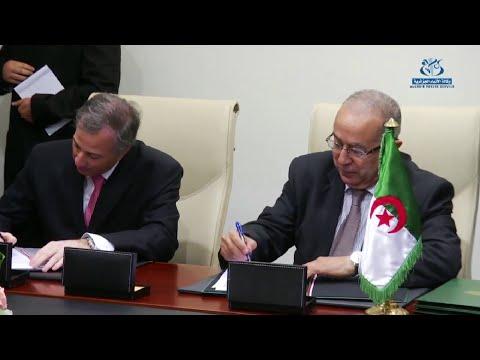 المكسيك يسعى إلى تعزيز العلاقات الثنائية مع الجزائر