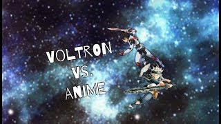 Voltron but Everyone's an Anime Character