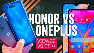 $600 Smartphone Showdown: Honor View 20 vs OnePlus 6T