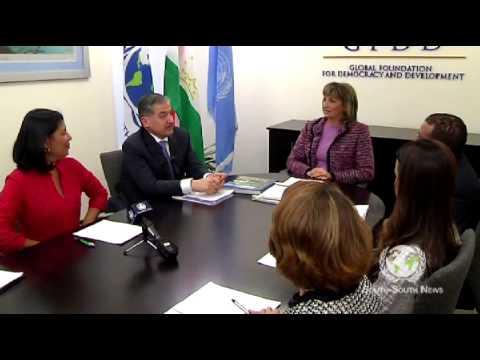 Global Roundtable - GFDD and H. E. Sirodjidin Aslov (Tajikistan)