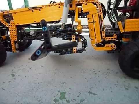LEGO TECHNIC ROAD GRADER GR-225A