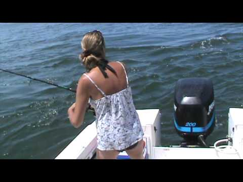 Blue fishing Long Island Sound023.MPG