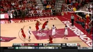 Men's Basketball Highlights - Arkansas 69, Dayton 55