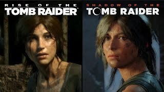 Shadow of the Tomb Raider vs Rise of the Tomb Raider | Direct Comparison