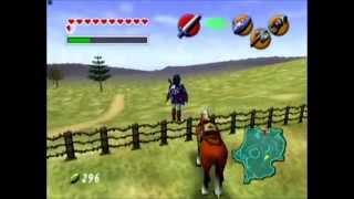 The Legend of Zelda Ocarina of Time   All 4 Bottles   Full HD