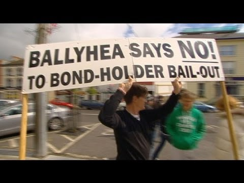 euronews reporter - Bailout brings deficit of trust to Ireland