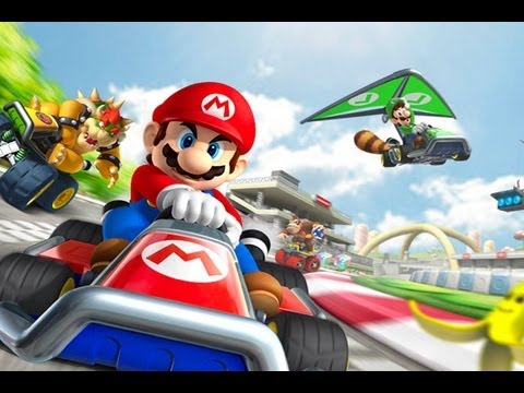 CGRundertow MARIO KART 7 for Nintendo 3DS Video Game Review