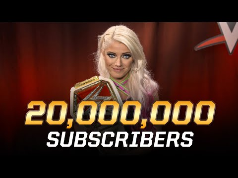 WWE's 20 million subscribers get a special message from the Superstars!
