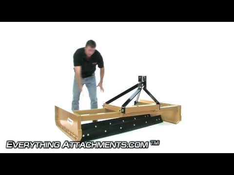 Land Leveler - Tractor 3 pt. Hitch
