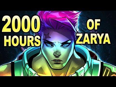 What 2000 Hours of Zarya Looks Like - Overwatch