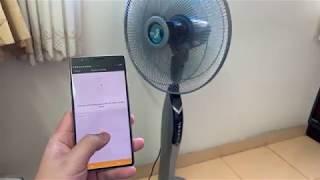 Điều khiển máy lạnh, quạt từ điện thoại hoặc giọng nói Google Assistant chỉ 280k