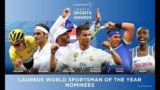 Laureus World Sport Awards Nominees 2018