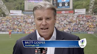 Brett Gosper on 100 days to go until RWC 7s 2018