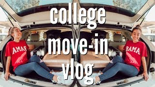 COLLEGE MOVE-IN VLOG 2018: UNIVERSITY OF ALABAMA