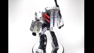 Video Review of the Transformers Combiner Wars Leader Class Megatron