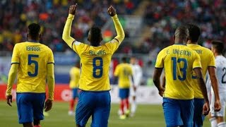 Ecuador vs Mexico 2-1 All Goals Copa America 2015 HD