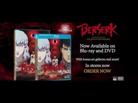 Extended Trailer - BERSERK The Golden Age Arc 2 The Battle For Doldrey Blu-ray&DVD - Avail. Now
