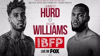 Jarrett Hurd vs Julian Williams Prediction